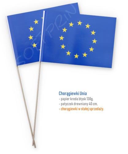 Chorągiewki Unia Europejska