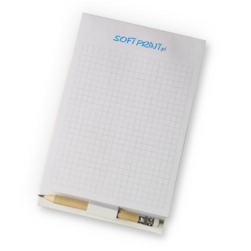 Notes magnetyczny z ołówkiem